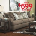 Ashley Homestore: $250 Off Corley Sofa