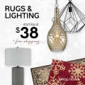 Ashley Homestore: Rugs & Lighting Starting At $38