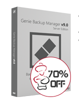 Genie9: 70% Off Genie Backup Manager Server 9.0