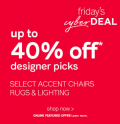 Ashley Homestore: 40% Off Designer Picks