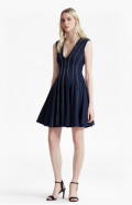 French Connection(US): MODERN KANTHA STABSTITCH JERSEY DRESS For $228