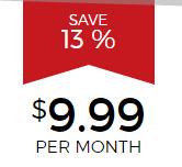 Hide My Ass: $9.9 Per Month