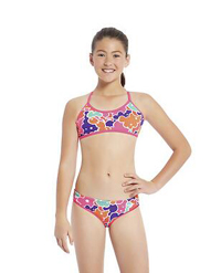 Speedo AU: $30 Off GIRLS CROSSBACK CROP SET