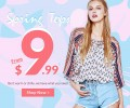 Rose Gal: Spring Tops From $9.99