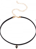 EmmaCloth: 67% Off Black Triangle Pendant Thin Choker Necklace