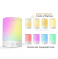 TVC-MALL: L7 Bluetooth Speaker Dimmable Colorful LED Night Light Just For $ 16.19