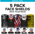 SA Co: 80% Off 5 Pack Face Shields