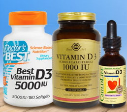 Iherb: 모든 비타민 D 제품 추가 10% 할인!