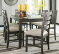 Ashley Homestore: Rokane Dining Room Table And Chairs For $548