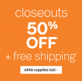 Ashley Homestore: 50% Off Closeouts + Free Shipping