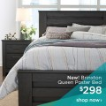 Ashley Homestore: Brinxton Queen Poster Bed For $298