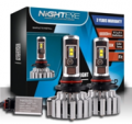 Beautifulhalo: NIGHTEYE T1 Car LED Headlight Bulbs CSP LED Pack Of 2