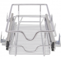 LovDock: Extra 5% Off Pull-Out Wire Baskets 2 Pcs Silver 300 Mm