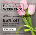 Ashley Homestore: Bonus Deals: 65% Off