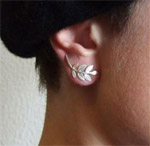 Fairyseason: Elegant Leaves Ear Studs Only $3.89