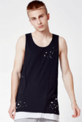 PacSun: 70% Off PacSun Nobu Destroyed Layer Extended Length Tank Top