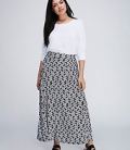 Lane Bryant: Save $15 On Printed Maxi Skirt