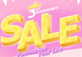 Newchic: 70% Off + Clearance! 3rd Anniversary Sale !