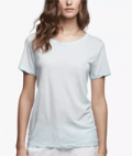 James Perse: 38% Off Sun Faded Clear Jersey Tee
