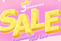 Newchic: 3rd Anniversary Sale:Men's Trends From $4.99!