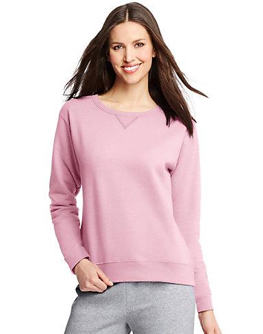Hanes: Women's Crewneck Sweatshirt