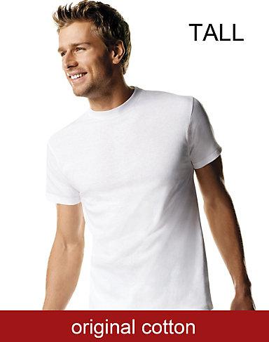 Hanes: Men's Tall Crewneck Undershirt