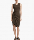 James Perse: Spiral Shirred Dress For $303.4