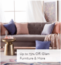 Gilt: 75% Off Glam Furniture