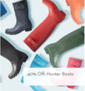 Gilt: 40% Off Hunter Boots