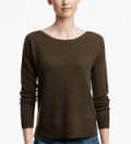 James Perse: Cashmere Boatneck Sweater For $472
