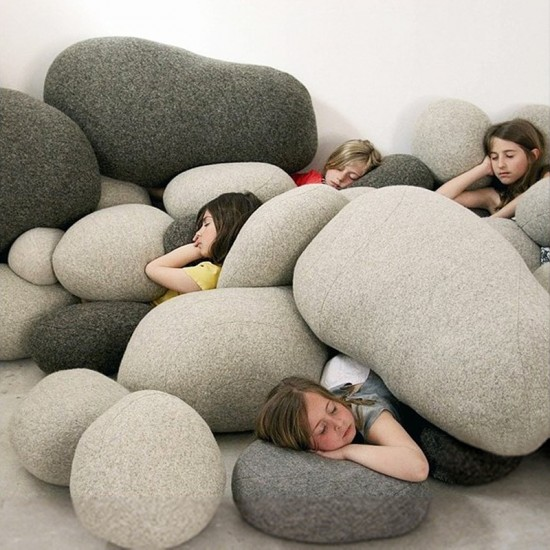 Coocepts: Stone & Cushion For $97
