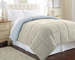 Dealmaxx: Deal Of The Day: Goose Down Alternative Microfiber Quilted Reversible Comforter
