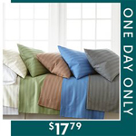 Zulily: One Day Only - 80% Off 400-Thread Count Sheets