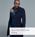 Gilt: 80% Off Prada Suiting