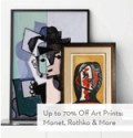 Gilt: 70% Off For Art Prints