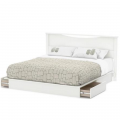 Peazz: Step One Collection King Platform Bed
