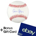 Ebay: 23% Off Aaron Judge New York Yankees Signed Baseball + $50 EBay Gift Card