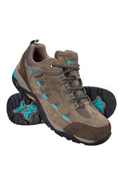 Mountain Warehouse: 63% Off Crest Womens Waterproof IsoGrip Shoes (Brown)