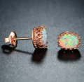 Mobstub: 87% Off - 18K Rose Gold Earrings