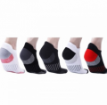 Mobstub: 56% Off -  Unisex Ankle Length Sports Compression Socks(5 Pairs)