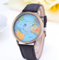 BoardwalkBuy: 70% Off Unisex Watch Unique Design World Map Quartz Watch