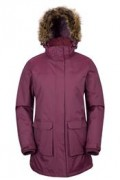 Mountain Warehouse: 67% Off Canyon Womens Long Jacket(Burgundy)