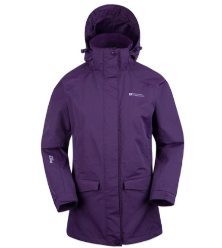 Mountain Warehouse: 50% Off Glacier Extreme Womens Long Waterproof Jacket