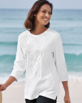 Blair: Embroidered Tunic