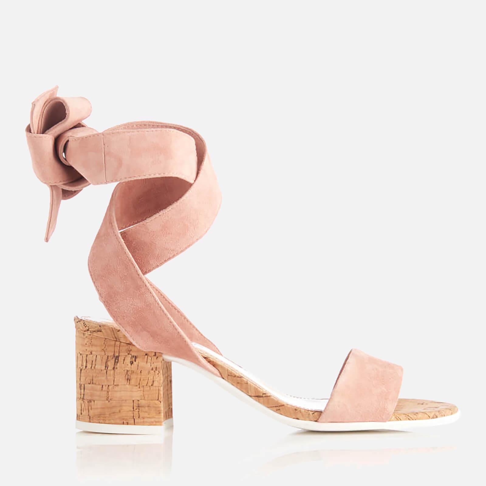 Allsole: 30% Off Dune Women's Jonee Suede Block Heel Sandals