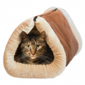 BoardwalkBuy: 67% Off 2-in-1 Cozy Cat Tunnel & Bed With Self-Heating Interior