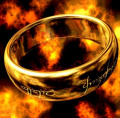 Focalprice: Over 1K Sold - Titanium Steel Lord Of The Ring