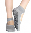 Mobstub: 73% Off -  Multipack: Non Slip Sport Mary Jane Yoga Socks - 3 Colors