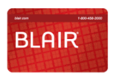 Blair: GIft Cards
