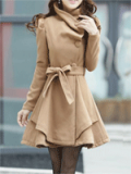 PopJulia: 15% Off Casual Shawl Collar Coat
